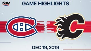 Nhl Highlights | Canadiens Vs Flames - Dec. 19, 2019