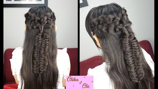 Boho Chic Style! | Braided Hairstyles | Prom Hairstyles | Half-up Hairstyles