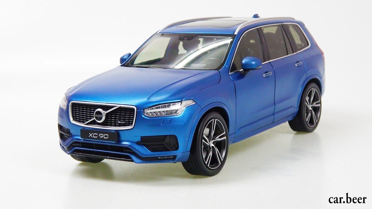 1/18 GT AUTOS Volvo XC90 T8 Matt Blue review - YouTube