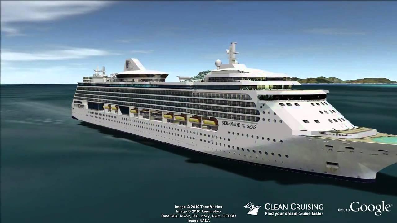 Serenade Of The Seas Virtual Ship Tour Youtube