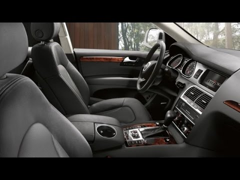 Q7 Review >> Audi - 2015 Audi Q7 Interior - YouTube