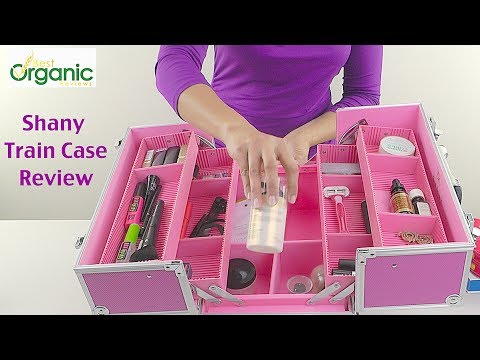 Makeup Storage Case Review   Shany Cosmetics Train Case
