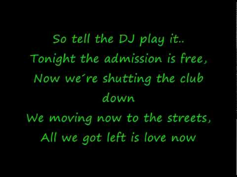 Alexandra burke Feat. Pitbull  -All Night Long (Lyrics)