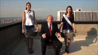 Donald Trump ALS Ice Bucket Challenge