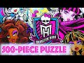 500-piece Puzzle MONSTER HIGH Games Clementoni Rompecabezas Playset De Toys Learning Activities