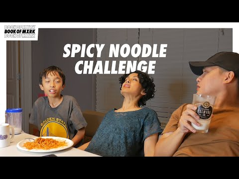 HAPPY SLIP TRIES THE SPICY NOODLE CHALLENGE!!