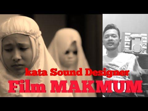 Sound Designer Film MAKMUM bercerita // mengenai Film Horror saat ini
