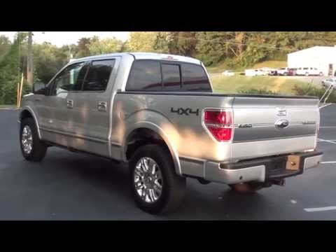 FOR SALE 2009 FORD F-150 PLATINUM!!! STK# P5834 www.lcford.com