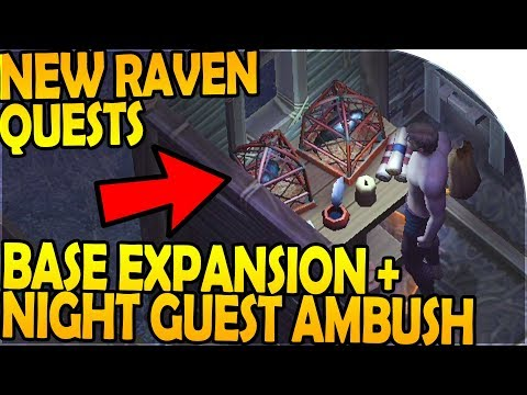 NEW RAVEN QUESTS, BASE EXPANSION, NIGHT GUEST AMBUSH (LDoE x GoT) - Grim Soul Dark Fantasy Survival
