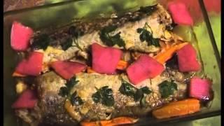 Рыба Минтай,запеченная в духовке
