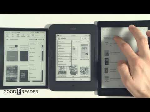 Kindle vs Kobo vs Nook - OS Comparison