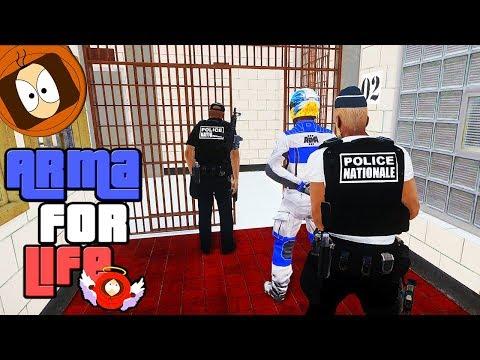 POLICE : VISITE DE LA NOUVELLE PRISON ! | ARMA FOR LIFE
