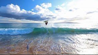 Skimboarding Big Beach Hawaii - Featuring Austin Keen