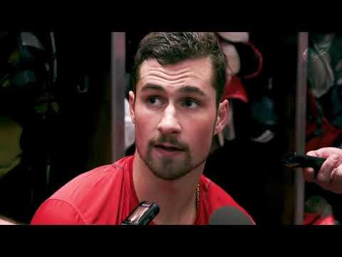 Dylan Larkin    3/15 Practice   Detroit Red Wings