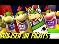 Evolution of bowser jr battles 2002-2016
