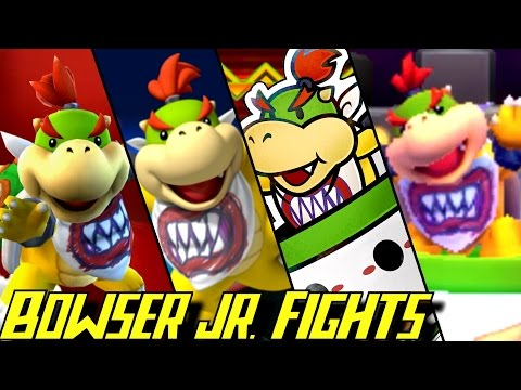 Evolution of Bowser Jr. Battles (2002-2016)