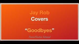 Goodbyes Jorja Smith Guitar/Piano Tutorial