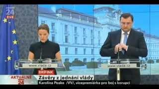 Petr NEČAS 7.3.2012  průser