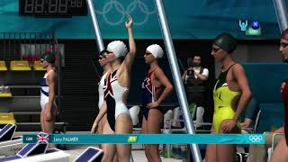 London 2012 The Offical Game: PC -   Swimming Event 50m