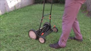 Adjust The Remington Reel Mower for Tall Grass