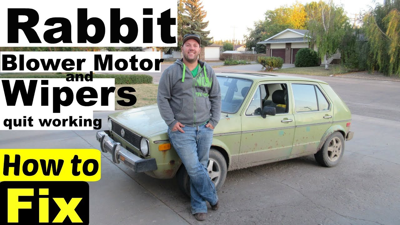 mk1 mk2 rabbit jetta caddy blower motor wiper motor electrical problems  [ 1280 x 720 Pixel ]