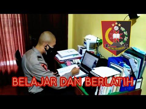 Giat Harian Pleton 2d Siswa Diktukba Polri Spn Polda Bali