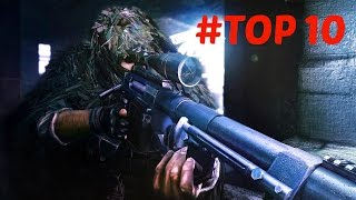 TOP 10 - Sniper Games PC EVER - [My opinion]