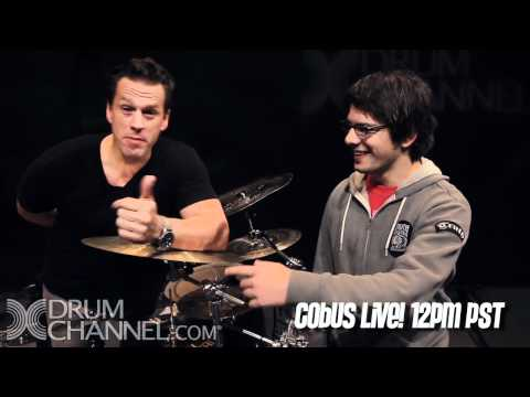 Cobus Live with Thomas Lang - Live at 12pm PST!