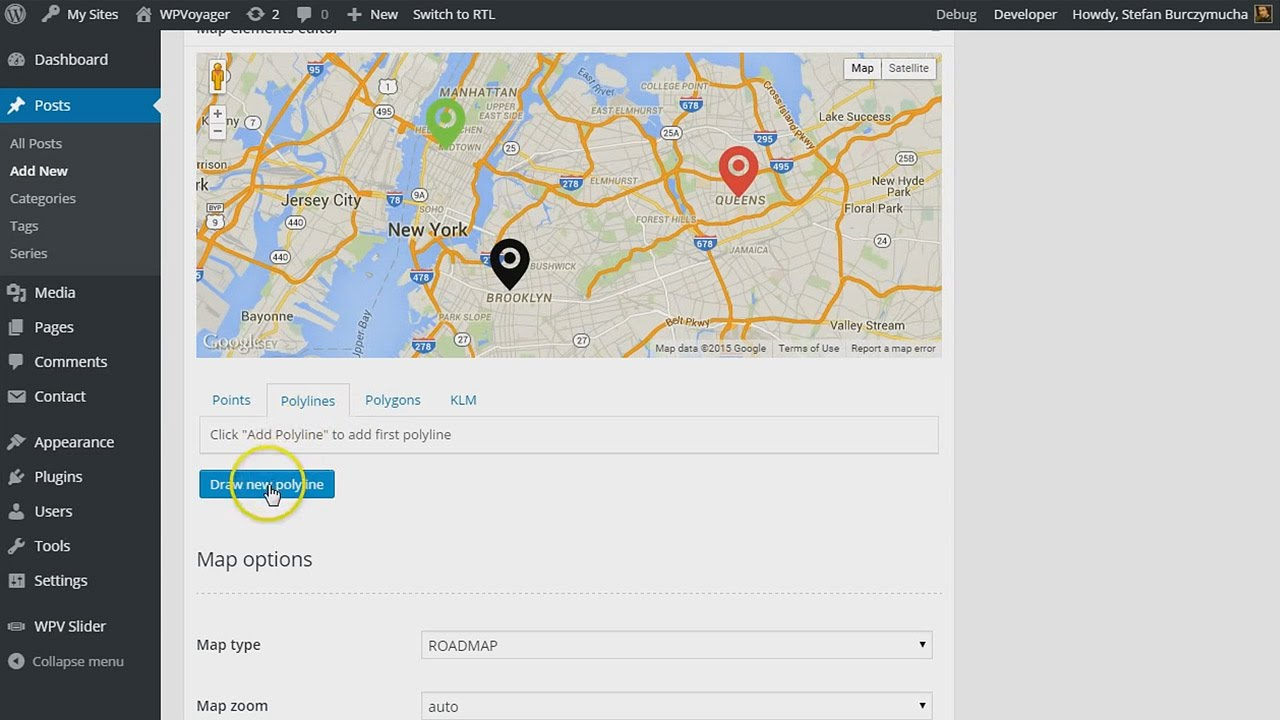 Map Drawing Tools – WPVoyager