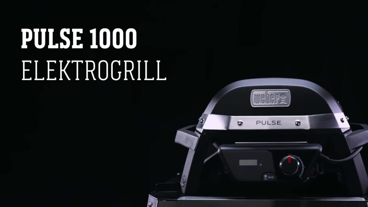 Weber Elektrogrill Pulse 1000 : Weber stephen grill pulse youtube