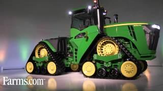 New John Deere High Horsepower 4-Track 9RX Tractor