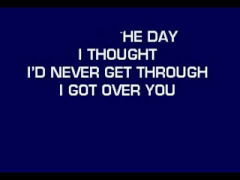 Over You - Karaoke (Chris Daughtry)