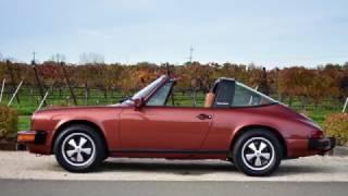 1977 Porsche 911S Targa Burgundy