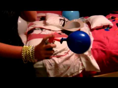 Blowing Up A Balloon With An Airhorn