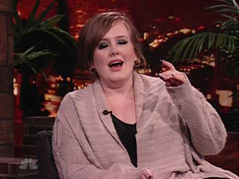 Adele at Last Call with Carson Daly 2009