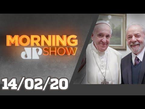 Lula e Papa Machismo na política Antártica 20º  JP Morning Show - 140220