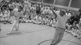 Os movimentos e as amizades, a formatura do mestre. Capoeira Biriba Brasil, mestre Pé de Vento.