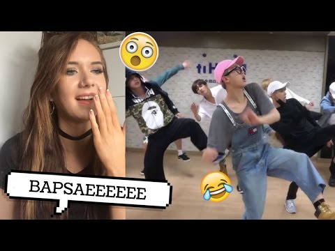 BAEPSAE DANCE PRACTICE BTS REACTION // ItsGeorginaOkay