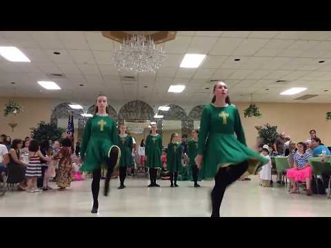 Amazing Irish Tap Dancing: Aiman's Mackrille International Night Part 3
