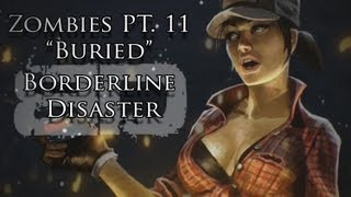 "Zombies Part XI ""Buried"" Music Video - Borderline Disaster - Black Ops II Zombies Song"
