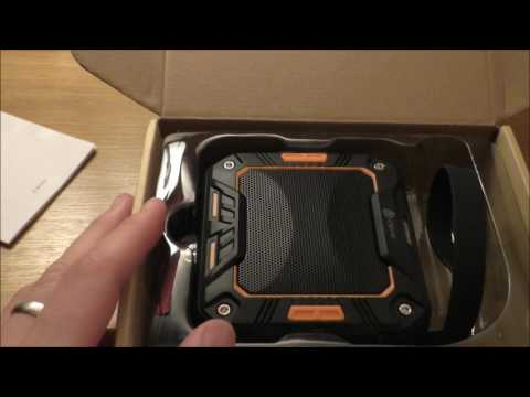 ASMR | Tech Unboxing/Review | iClever Outdoor Speaker