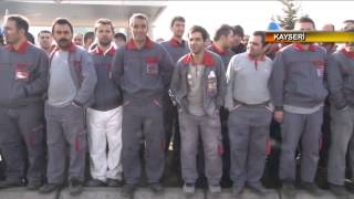 2 bin işçiden Boytaş'a zam protestosu!