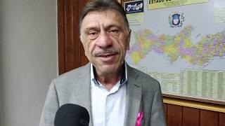 José Patriota, fala da expectativa da visita do Ministro Luiz Eduardo Ramos