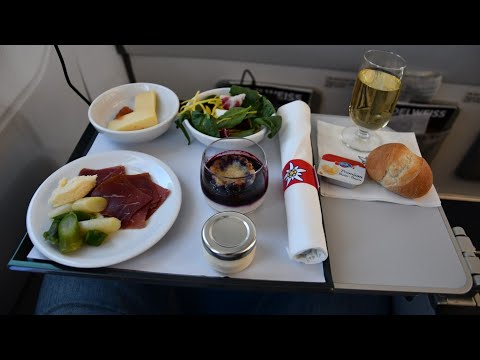 Edelweiss Air Business Class - Airbus A320 - Flight WK348 - Swiss Business Lounge ZRH Gate A