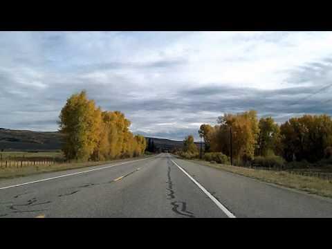 Colorado Highway 135: Crested Butte to Gunnison Dashcam Drivelapse