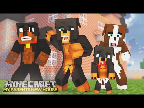 Minecraft - Donut the Dog Adventures -SURPRISE FOR MY PARENTS!!!!