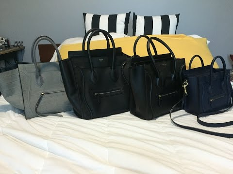 celine replica tote - Celine Handbags Reference Guide - YouTube