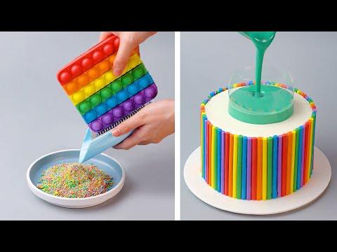 Oddly Satisfying Chocolate Cake Decorating Ideas | Best Yummy Chocolate Cake Tutorials