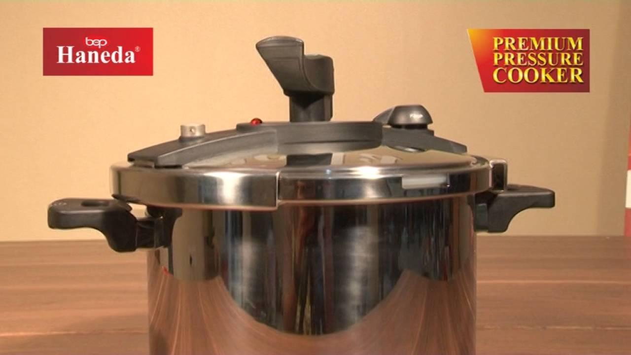 95971f041ed Haneda Premium Pressure Cooker - YouTube