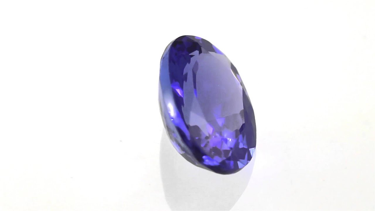 tanzanite of expertissim certificate loose igi and